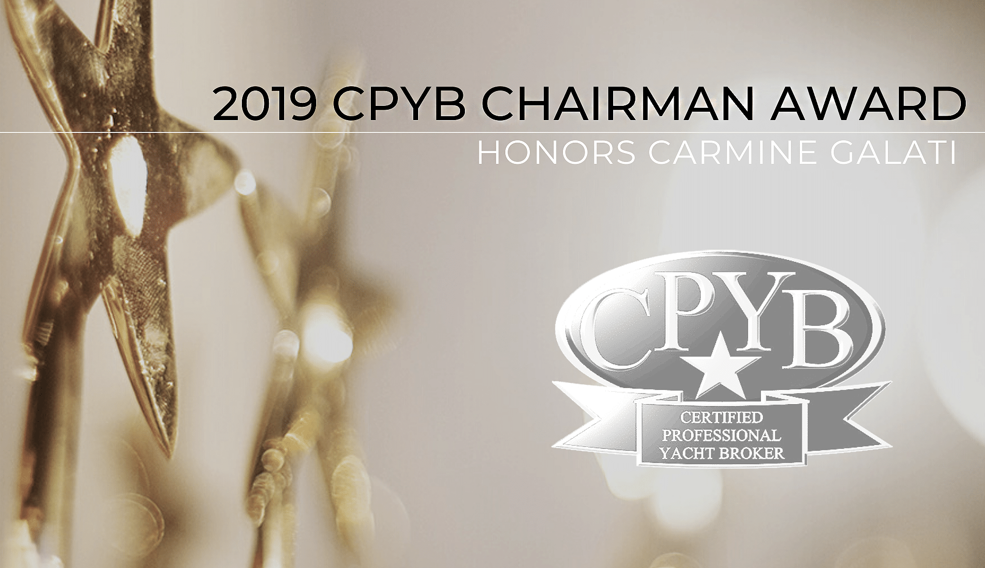 CPYB Chairman's Award Honors Carmine Galati For 2019