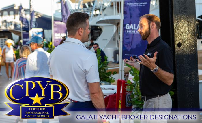 Galati Certified Professional Yacht Broker Designations