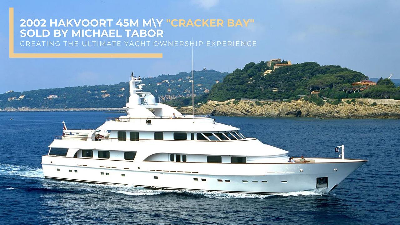 Luxury mega yacht sold: 2002 Hakvoort 45M Motor Yacht