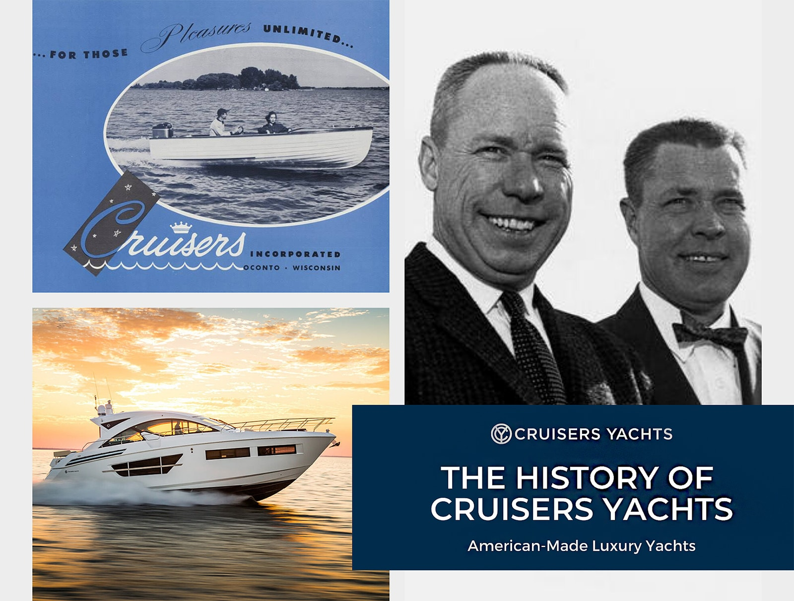 History of Cruisers Yachts | American-Made Luxury ...