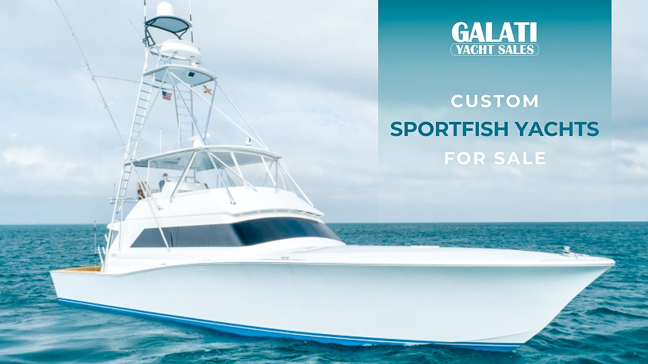 custom sportfish yachts available for sale