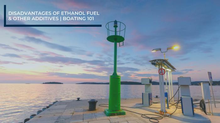 disadvantages of ethanol fuel
