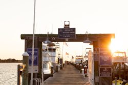 docks for Emerald Coast party