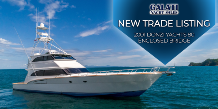 2001 80 Donzi Yachts EB