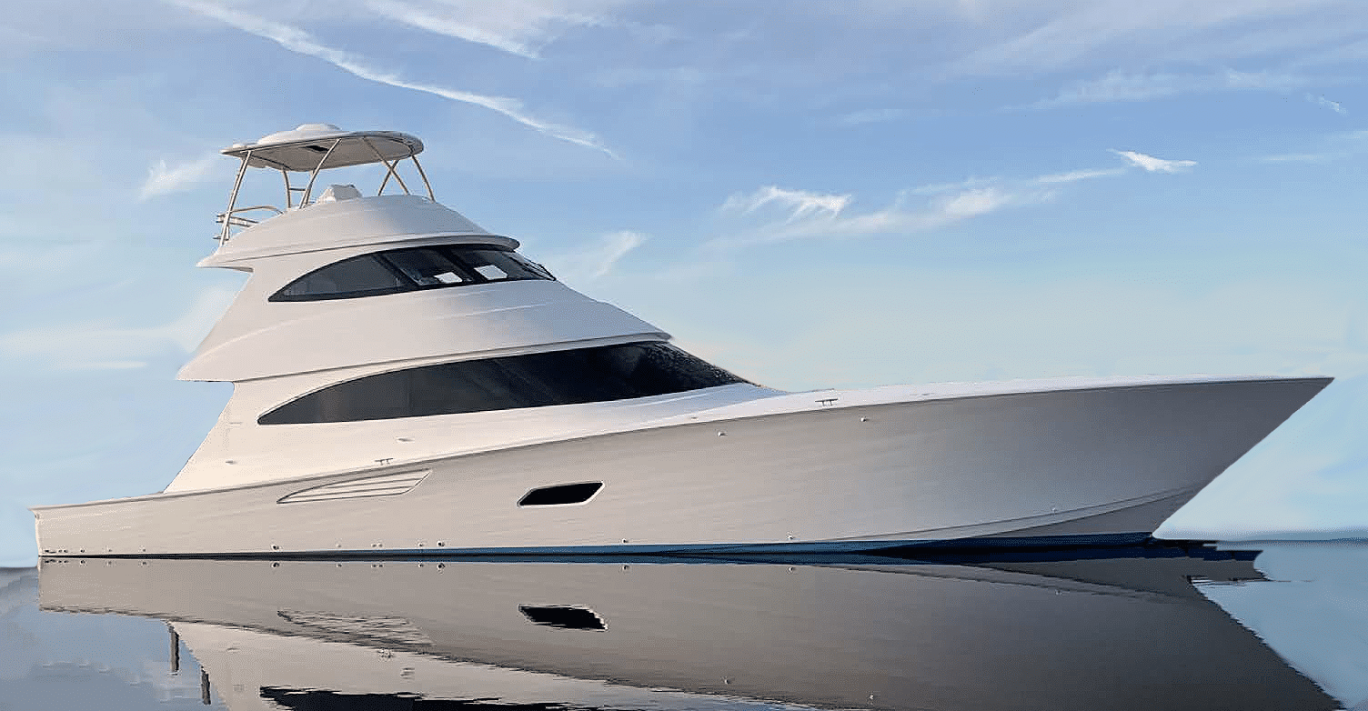 New Viking 80 Skybridge Yacht