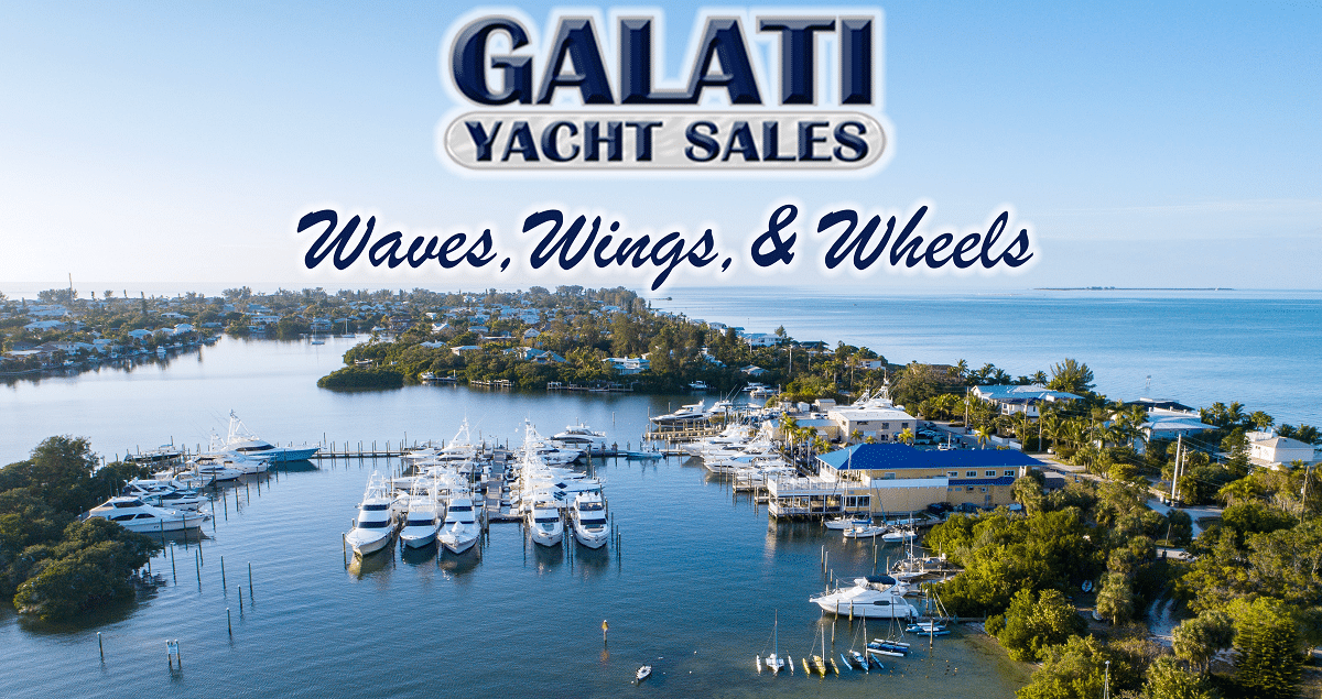 Galati Yacht Sales Waves, Wings, & Wheels Event
