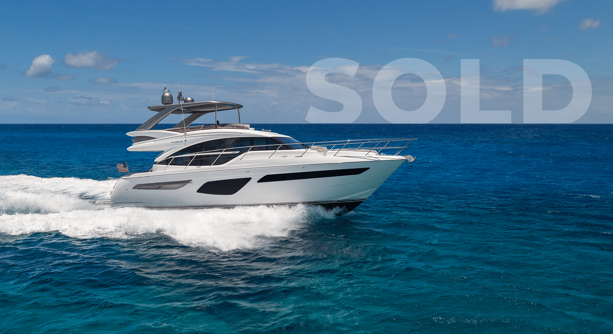 2020 F55 Princess Yacht Sold Report | About the F5...