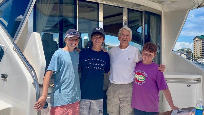 Galati Yachts' Customer Testimonial: West Coast Adventure
