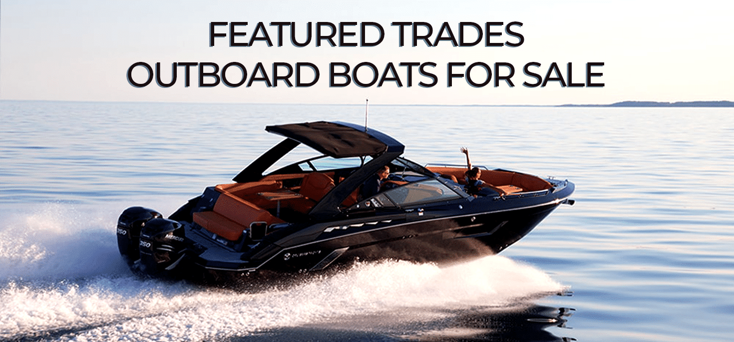 featured trades- Outboard boats for sale
