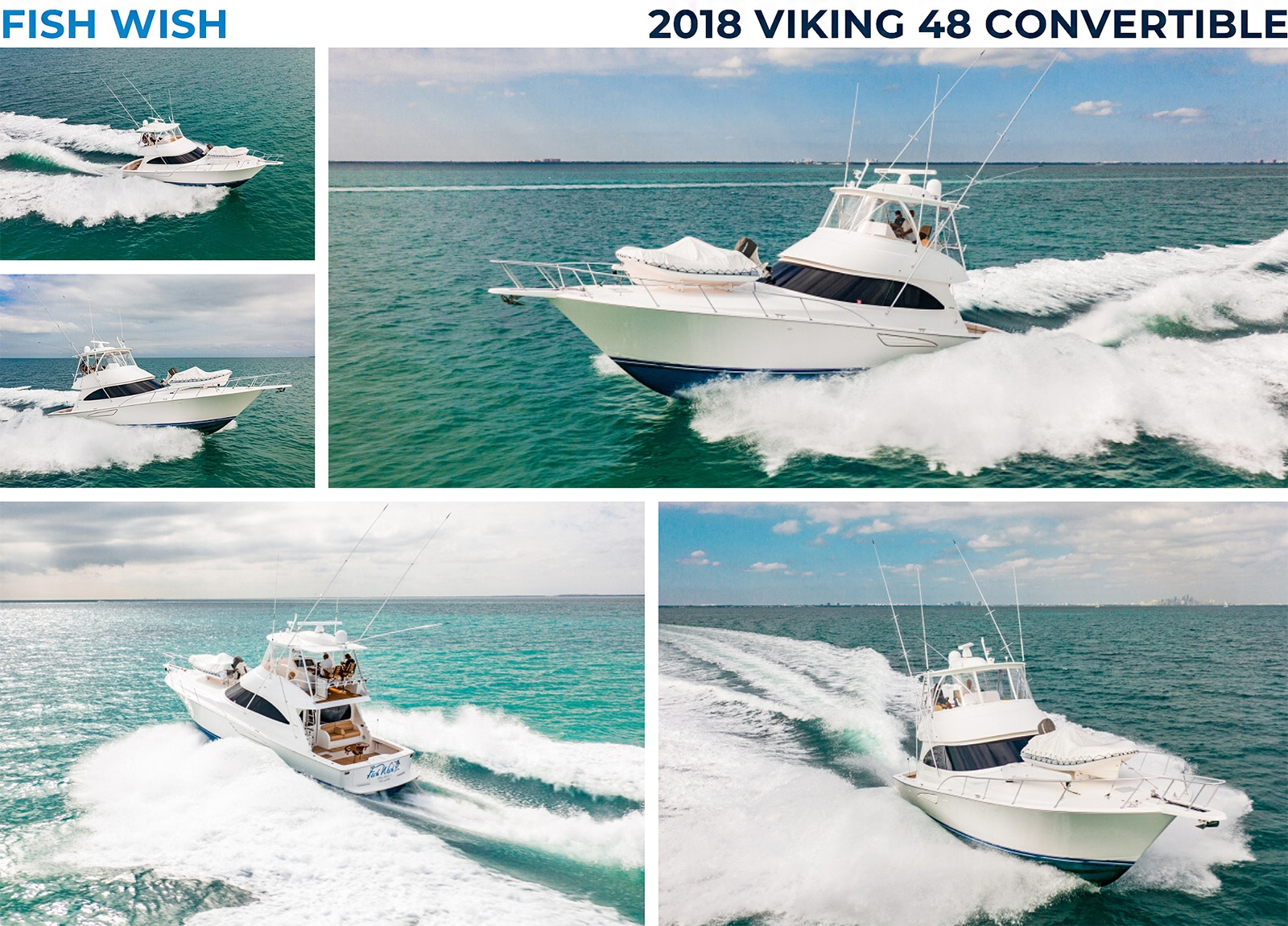 2018 Viking 48 Convertible Fish Wish