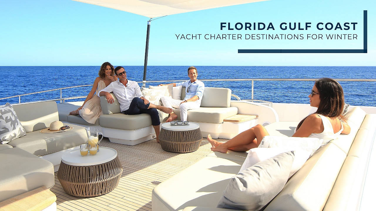 florida gulf coast yacht charter destinations