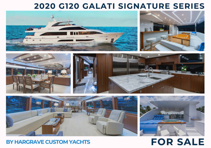 G120 at the Miami Yacht Show