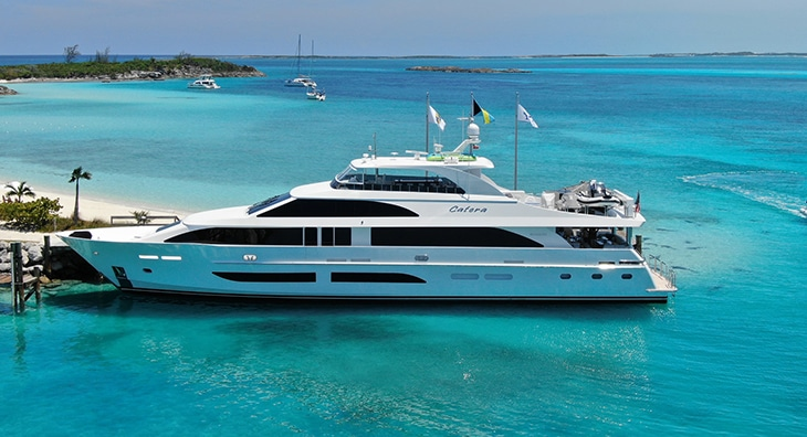 Hargrave G120 Charter Yacht
