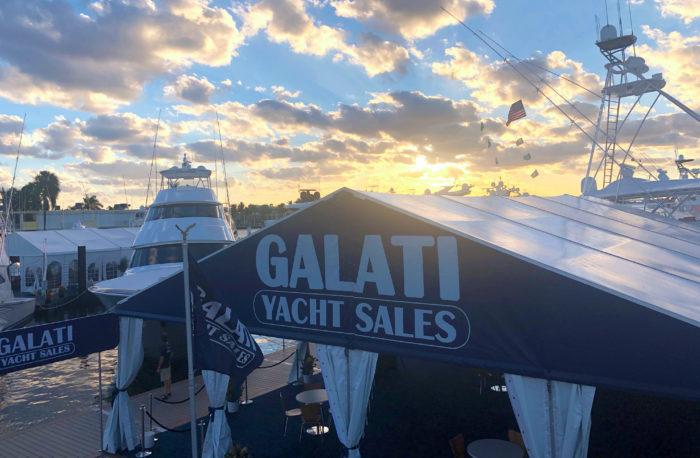 Galati Yacht Sales at FLIBS
