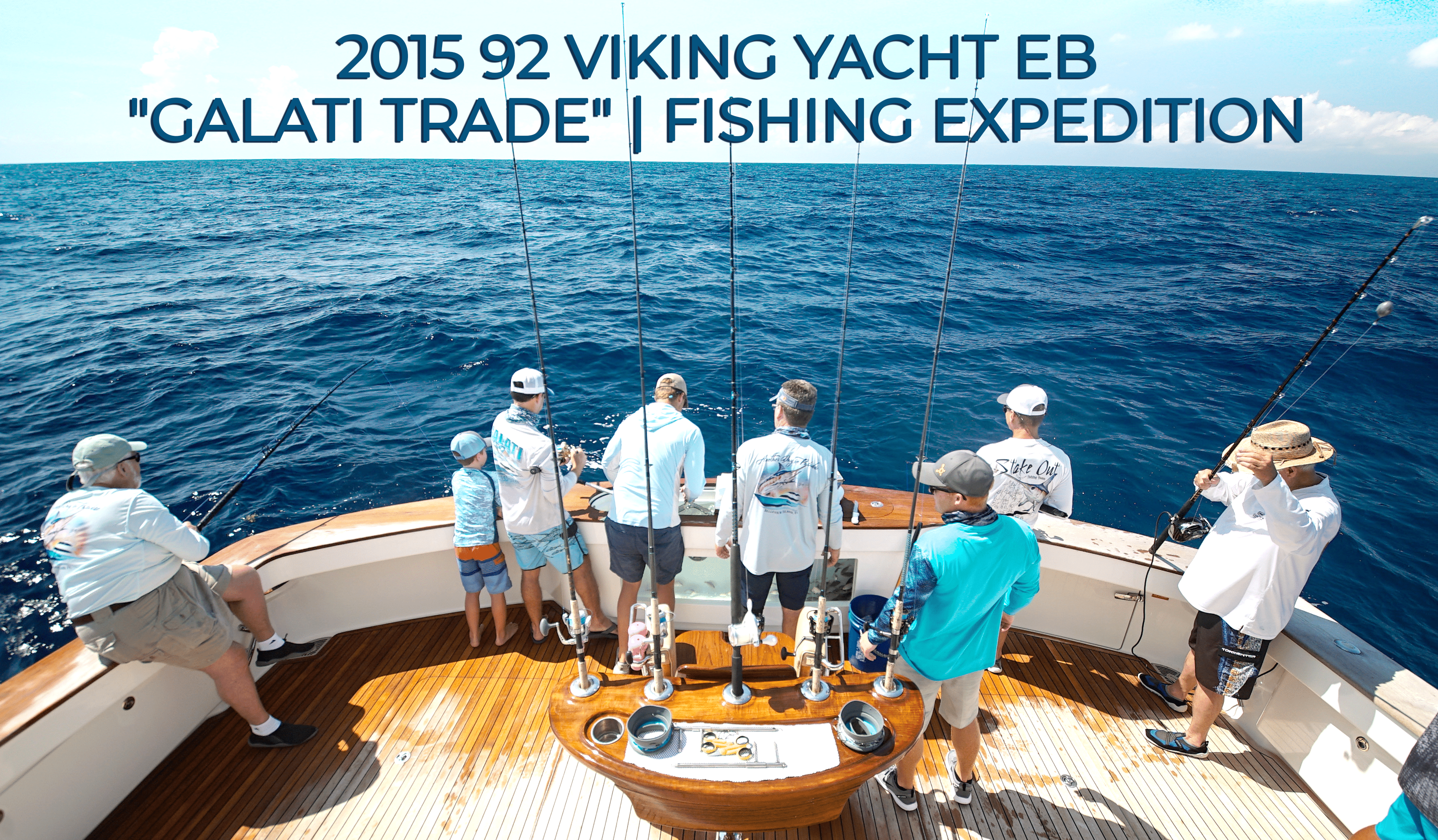 "2015 92 Viking Yacht EB ""Galati Trade"" 