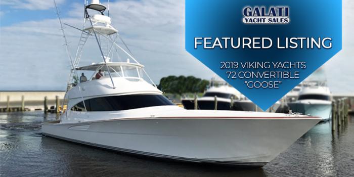 "2019 72 Viking Yacht Convertible ""Goose"""