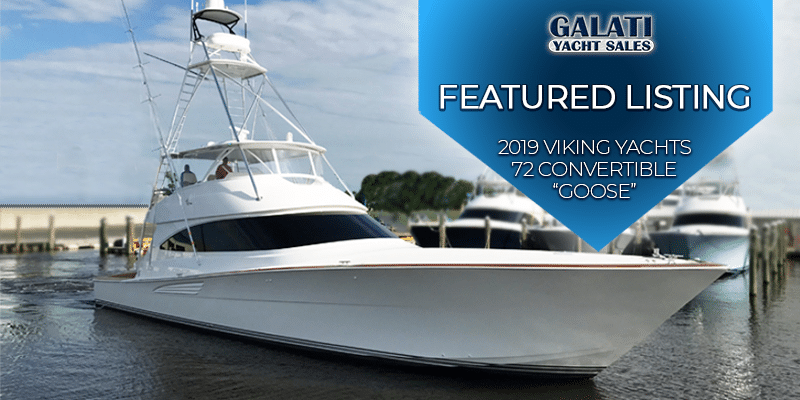 "2019 72 Viking Yacht Convertible ""Goose"""
