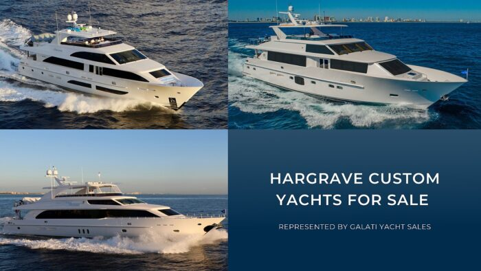hargrave custom yachts for sale