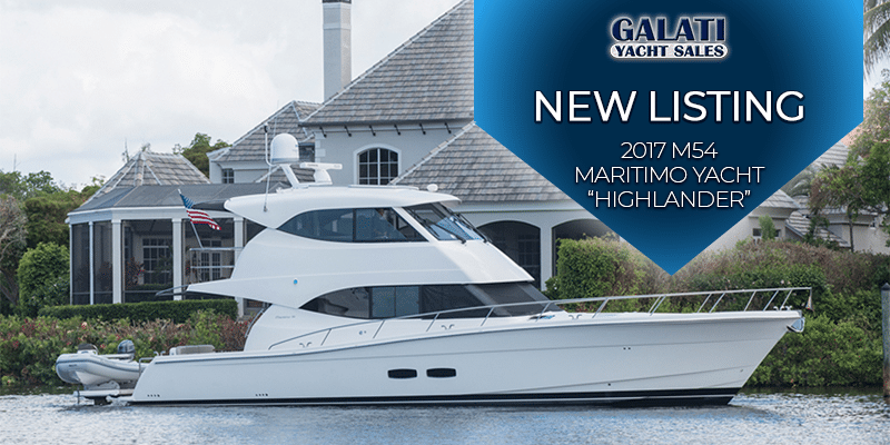 "2017 M54 Maritimo Yacht ""Highlander"" 