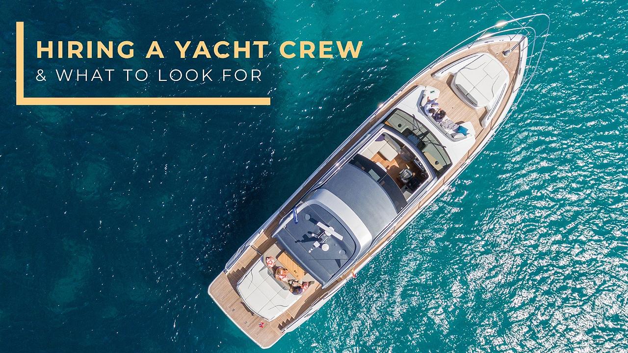 hiring a yacht crew