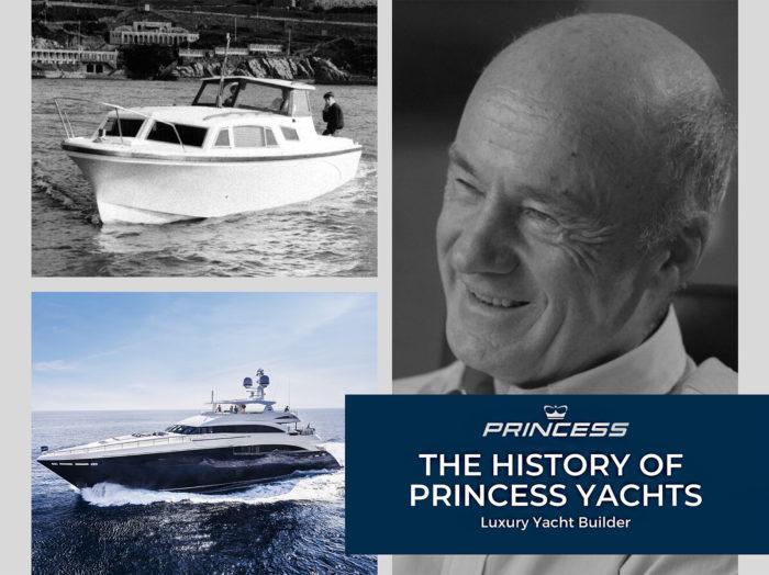 history of princess yachts