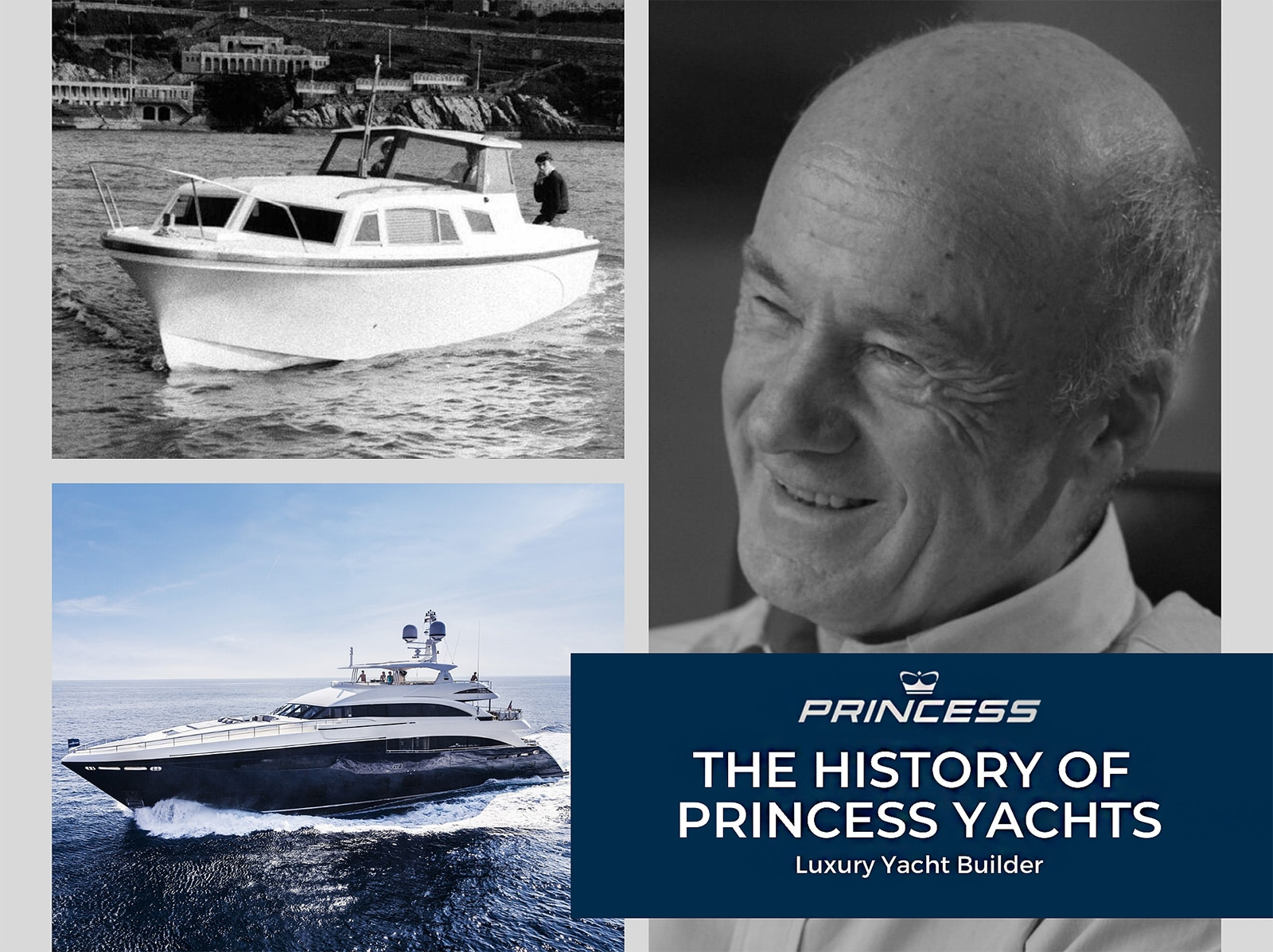 history of princess yachts