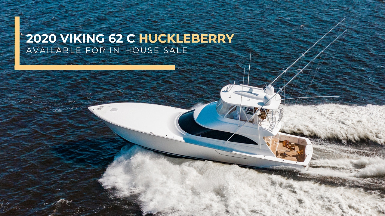 2020 VIKING 62 CONVERTIBLE - HUCKLEBERRY