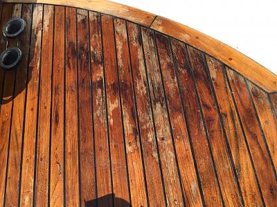teak decking: what not to do