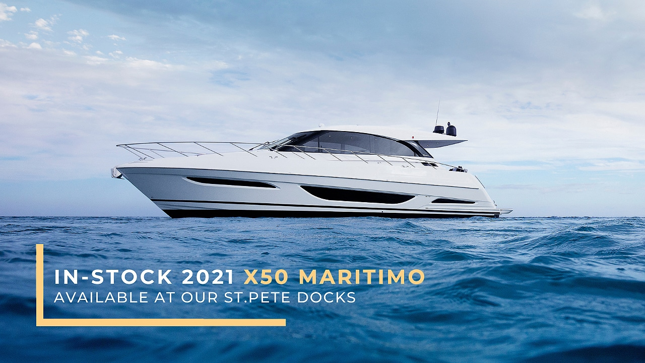 in-stock 2021 Maritimo X50