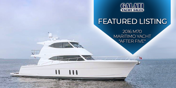 "2016 M70 Maritimo Yacht ""after five"" for sale"