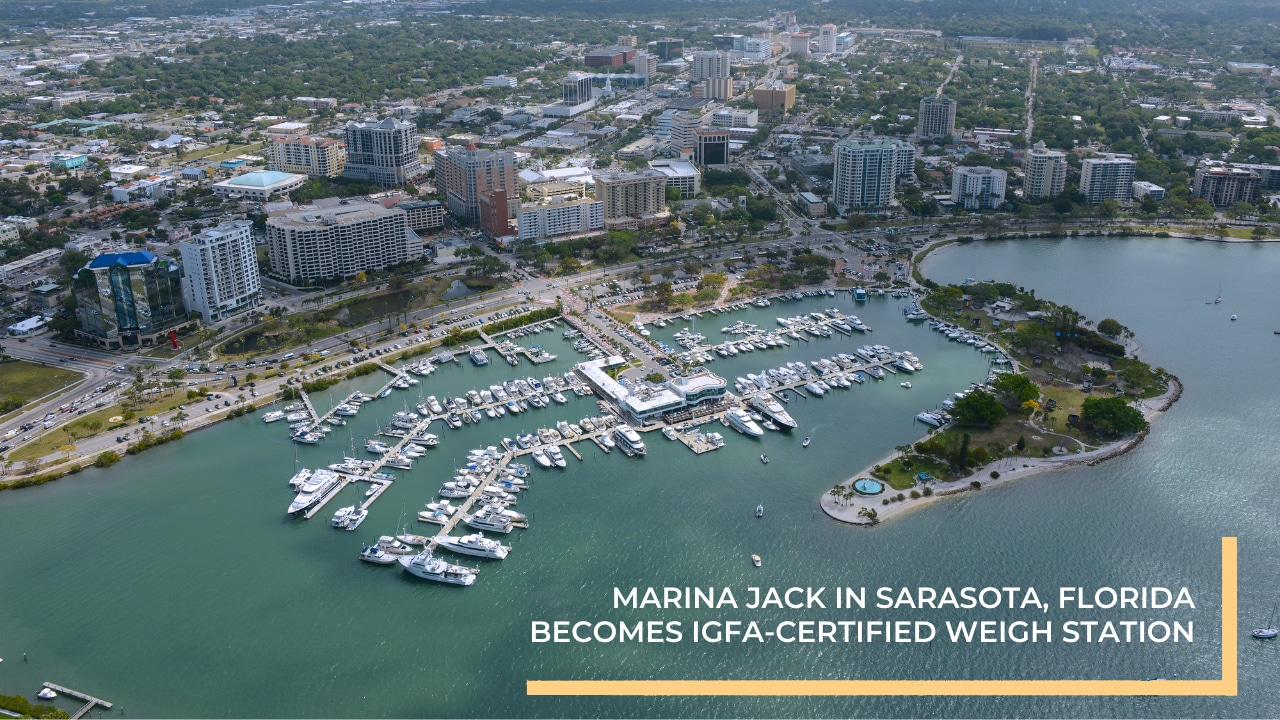 Marina Jack in Sarasota, Florida becomes 9th IGFA-Certified Weigh Station