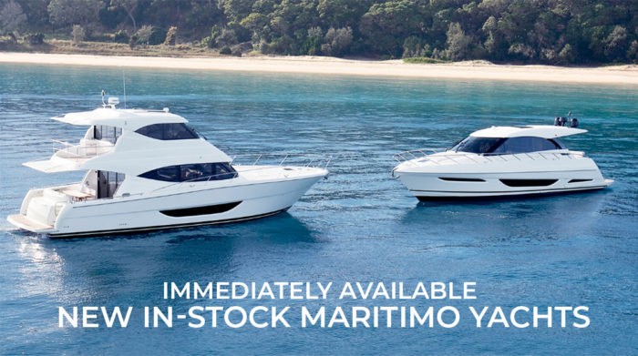 Immediately Available   New In-Stock Maritimo Yachts