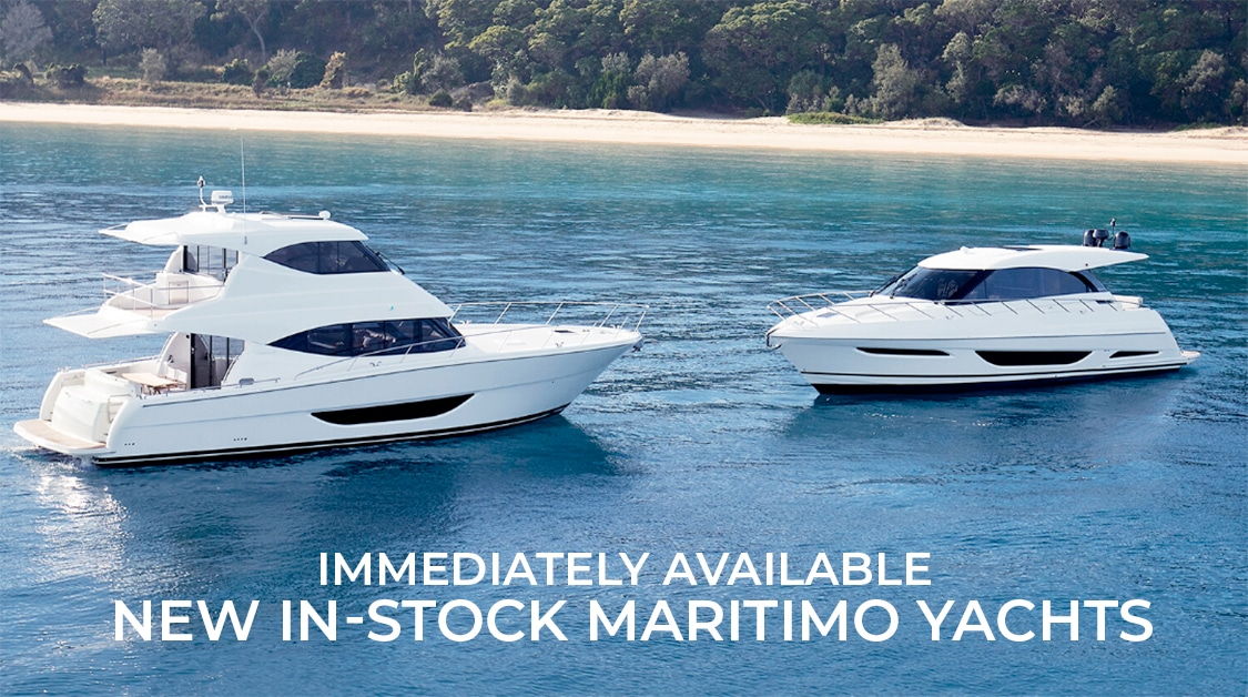 Immediately Available | New In-Stock Maritimo Yach...