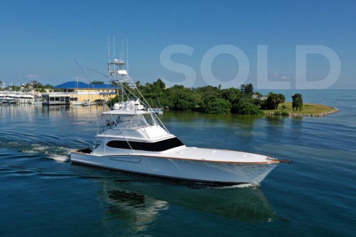 sold 2008 Mark Willis Yachts 76 Custom Sportfish
