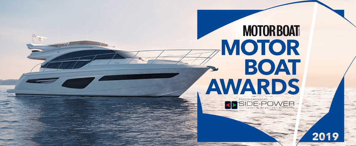 Princess Yachts F55 Motor boat award winner