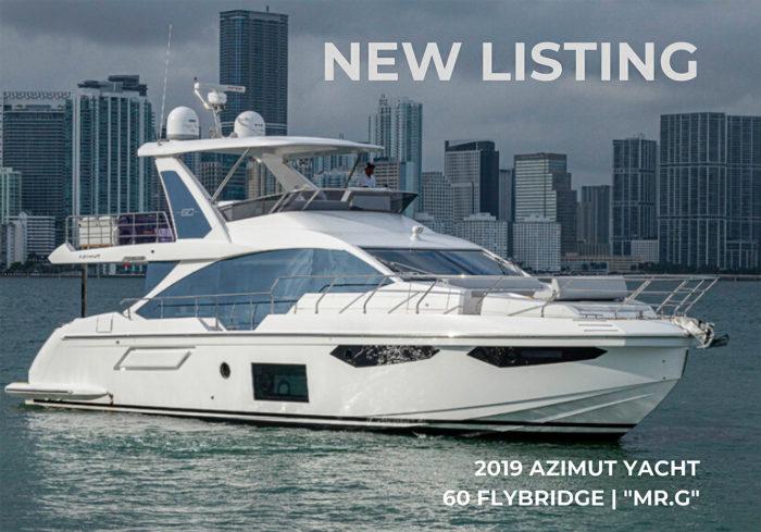 2019 60 Azimut Yacht Flybridge MR.G   For Sale