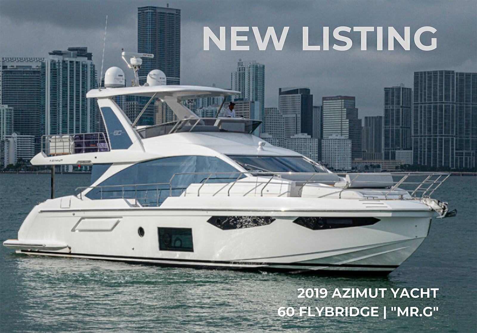 2019 60 Azimut Yacht Flybridge MR.G | For Sale