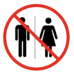 no restroom icon