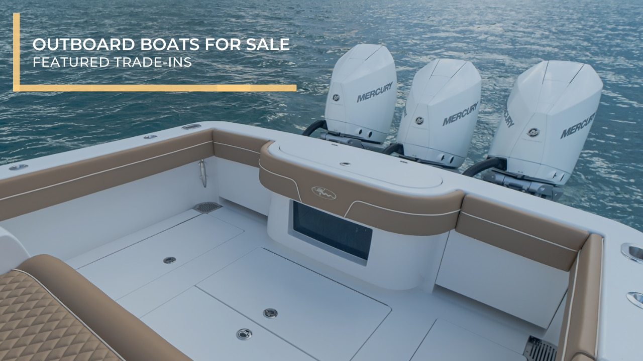 Outboard Boats For Sale | Featured Trade-Ins