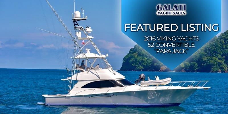 Papa Jack 2016 Viking Yachts 52 Convertible