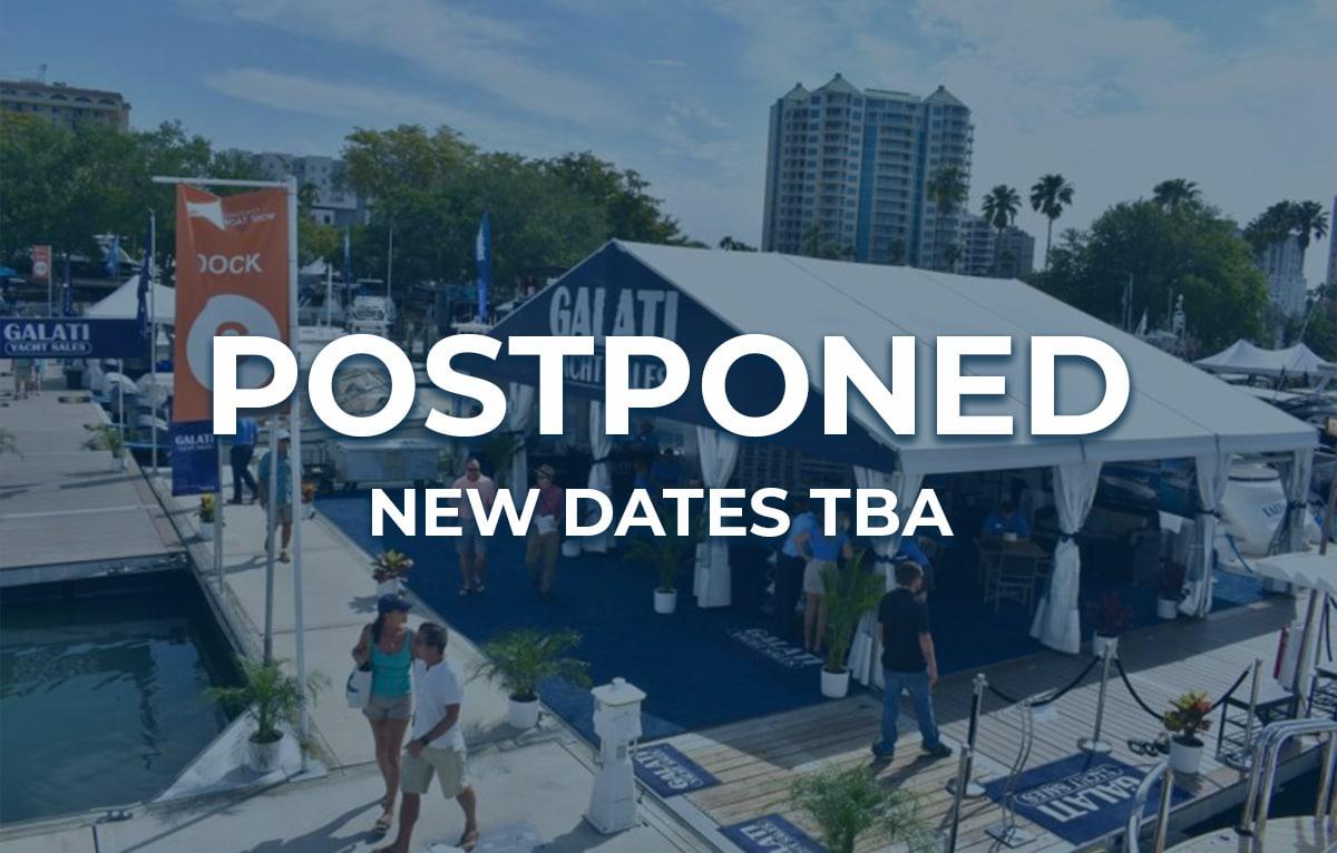 Suncoast boat show postponed