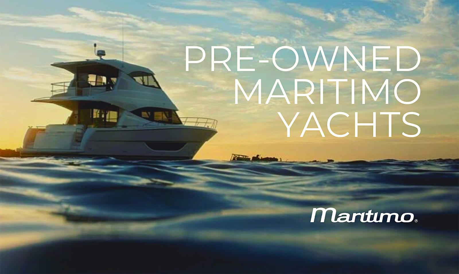 Pre-Owned Maritimo Yachts For Sale
