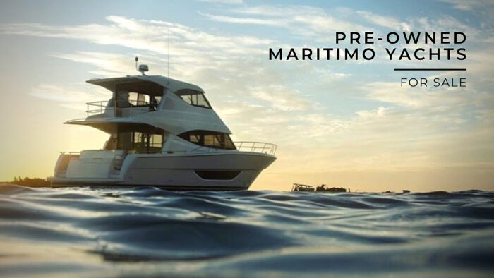 pre-owned Maritimo Yachts