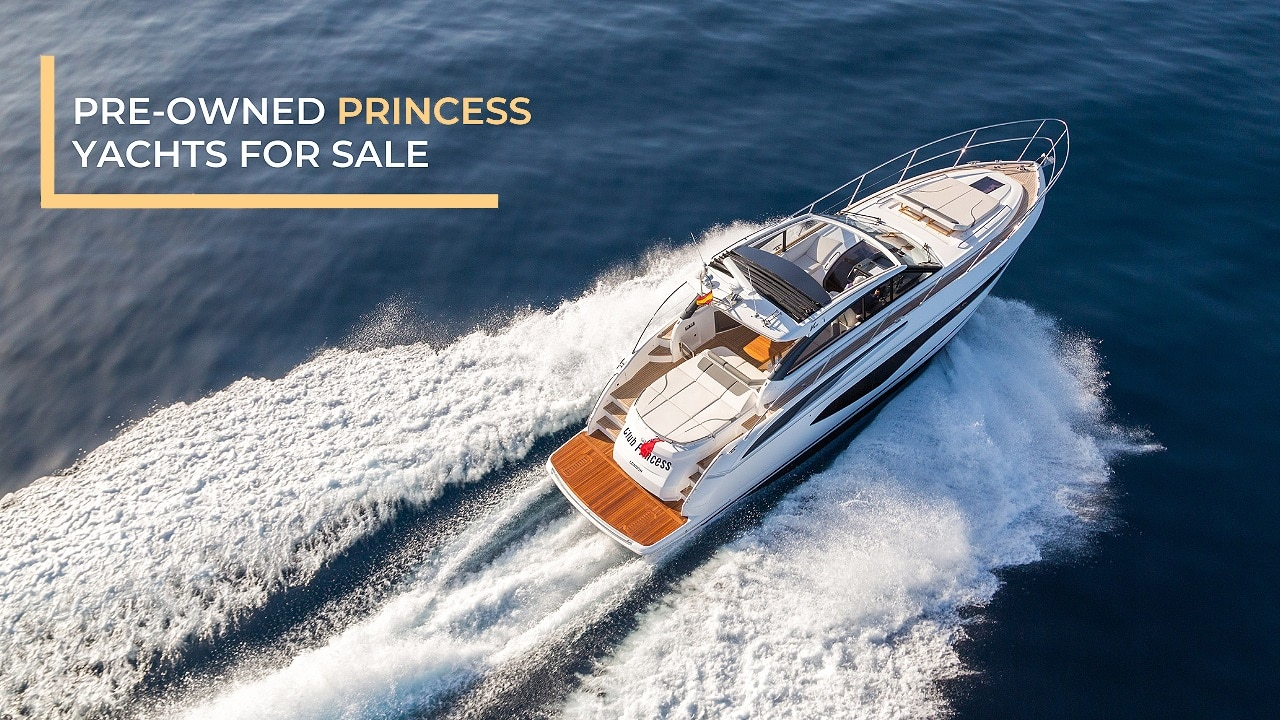 pre-owned princess yachts