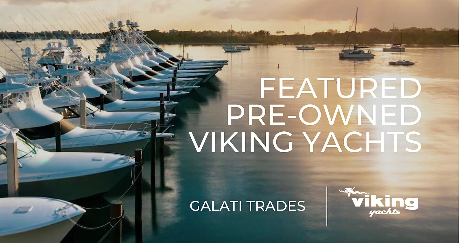 pre-owned viking yachts