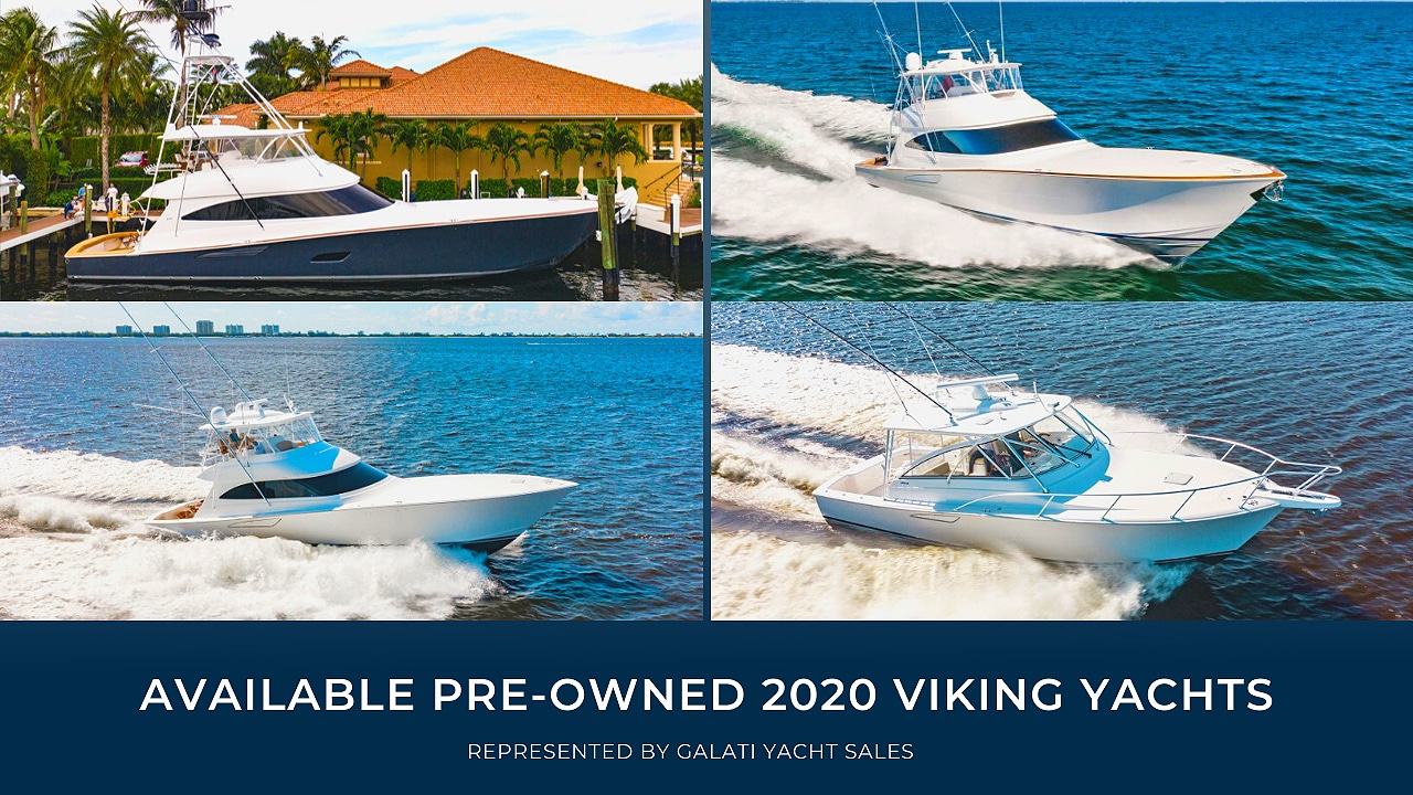 Available Pre-Owned 2020 Viking Yachts