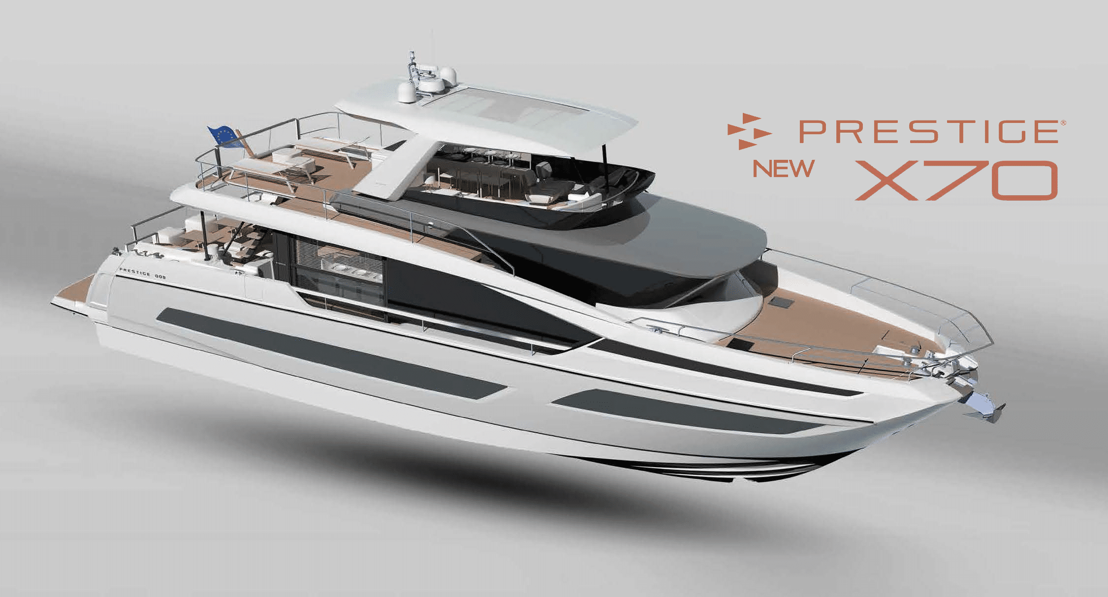 Prestige Yachts X70- Flagship of the X-Line Series