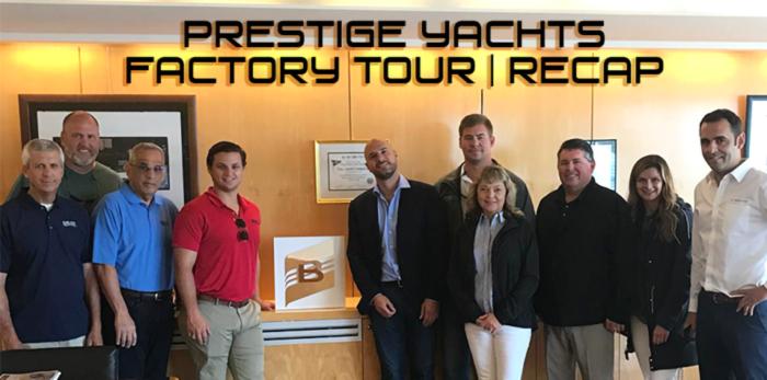 Prestige Yachts Factory Tour