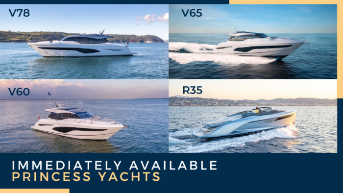 Immediately Available Princess Yachts