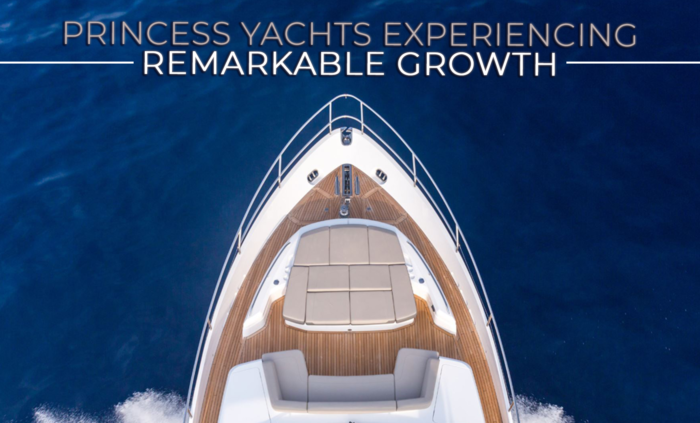 Princess Yachts Experiences Remarkable Growth